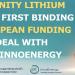 Acuerdo para la financiación europea del proyecto de litio en Cáceres