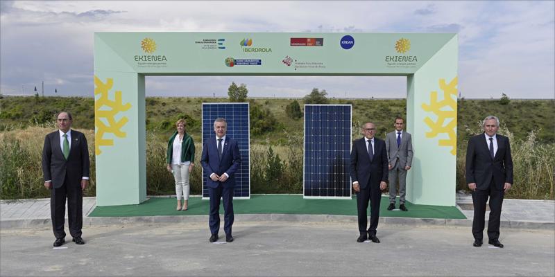royecto Ekienea, la mayor planta fotovoltaica de Euskadi