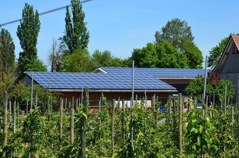 Instalación solar sobre cubierta