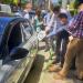 Primeros puntos de recarga rápida eléctrica en la vía pública de Caravaca de la Cruz
