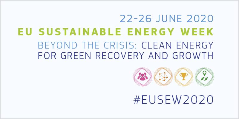 Cartel de la Semana de la Energía Sostenible de la UE 2020