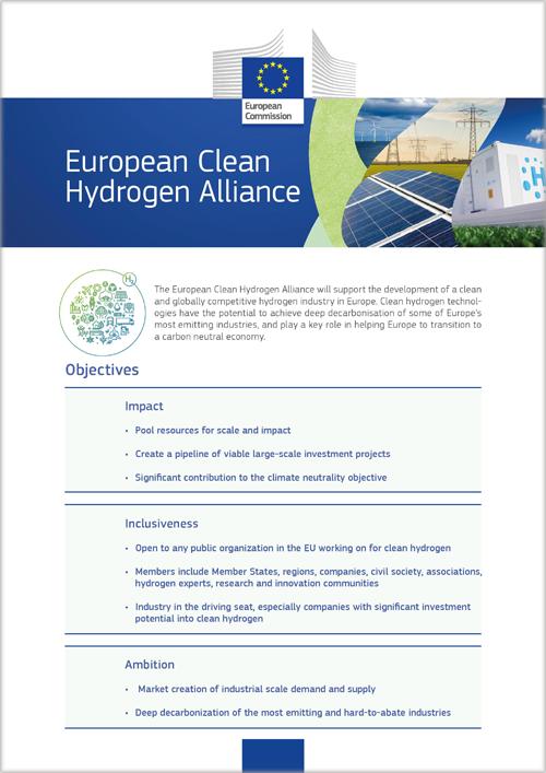 Alianza Europea de Hidrógeno Limpio