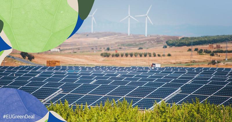 Energía eólica y fotovoltaica
