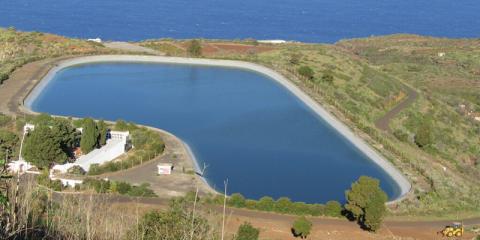 La electricidad suministrada al Consejo de Aguas de La Palma deberá proceder de renovables