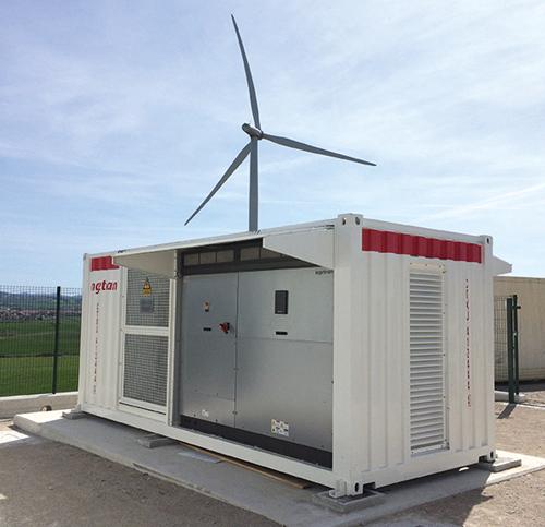 Sistema de almacenamiento de baterías de Ingeteam.
