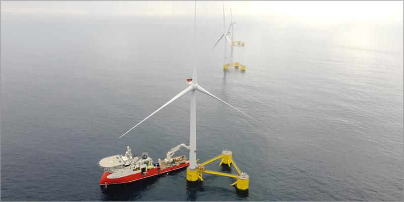 Windplus es un consorcio entre EDP Renováveis y ENGIE (ahora Ocean Winds -OW-), Repsol y Principle Power