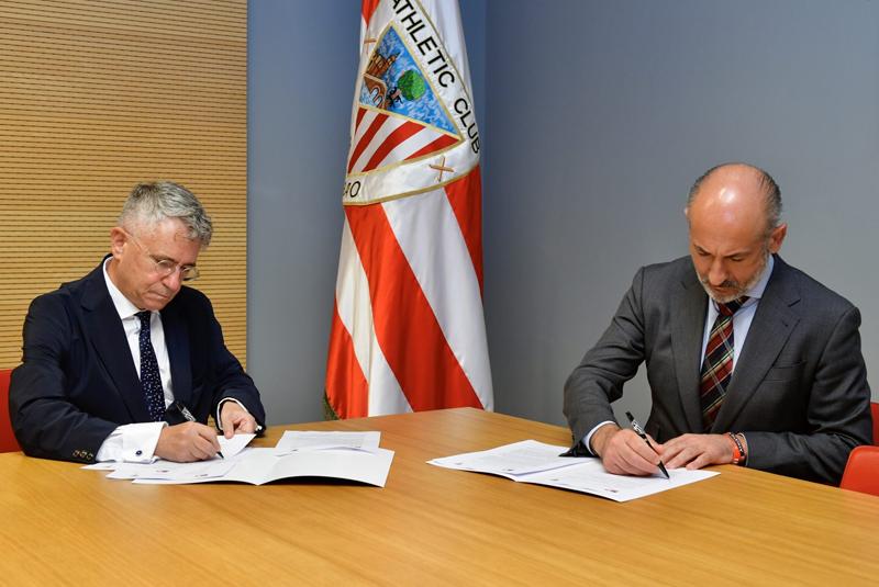 El Athletic y Petronor firman un convenio para descarbonizar el consumo de energía del club
