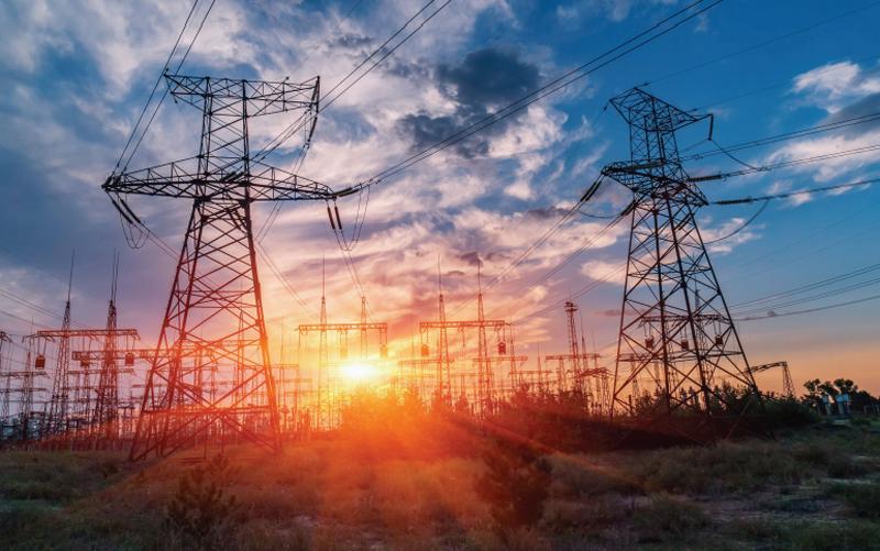 Red de transporte de energía eléctrica