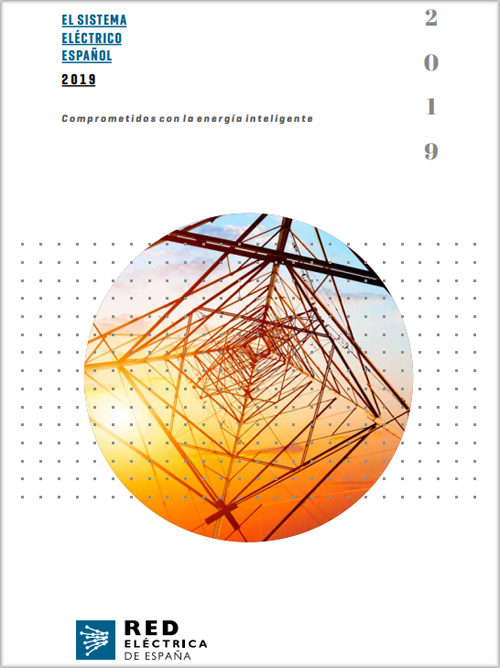 Portada Informe del sistema eléctrico español 2019