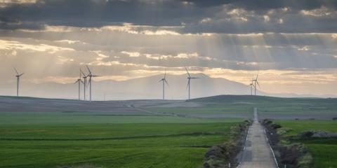 Un total de 12 parques eólicos ubicados en Los Monegros generarán 1,5 TWh anuales