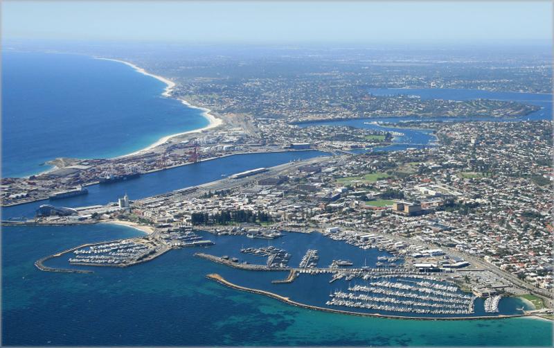 Ciudad de Fremantle en Australia