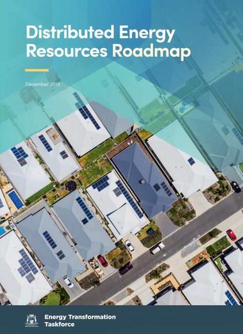 Portada Hoja de ruta de recursos energéticos distribuidos de Australia