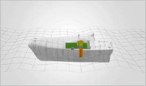 Funcionamiento del dispositivo ubicado en el interior de Penguin 2.
