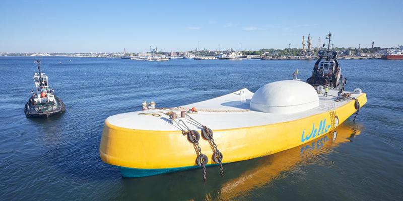 El dispositivo Penguin 2 permanecerá dos años en aguas de la costa vasca.