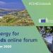 El foro de energía limpia para las islas de la UE se celebrará de forma online en octubre