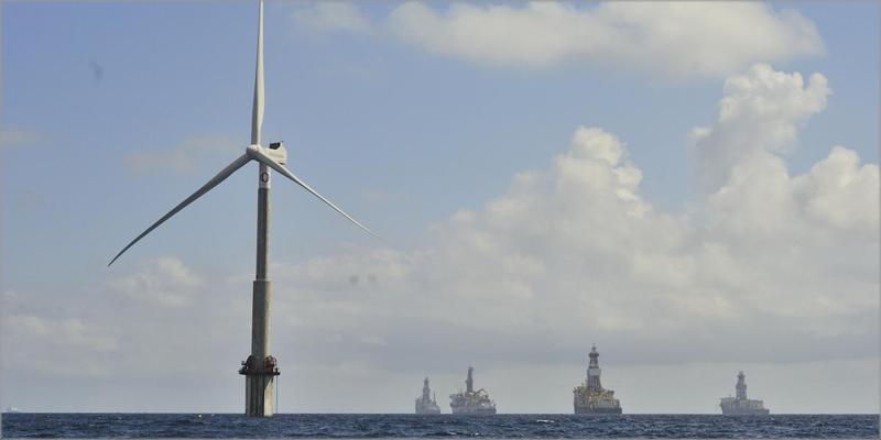 áreas más adecuadas en Canarias para instalar aerogeneradores marinos