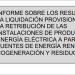 Informe de la CNMC de la octava liquidación provisional de 2020 del sector eléctrico