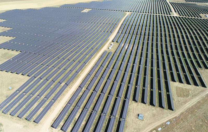 Megaparque fotovoltaico Albacete.