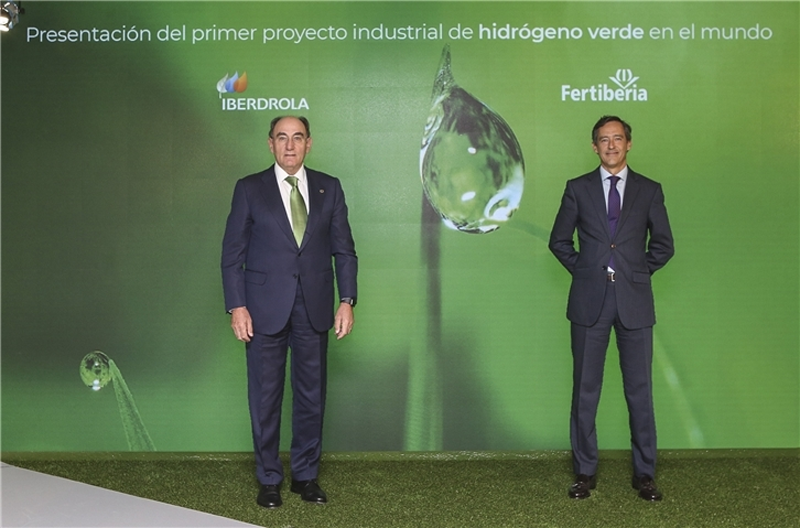 Plan de hidrógeno verde de Iberdrola.