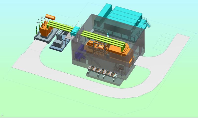 Estabilizadora de red de Siemens Energy.