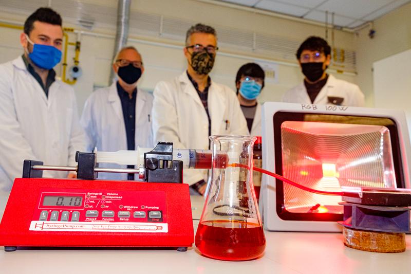 Investigadores de la Universidad de La Rioja.