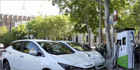 El Ayuntamiento de Madrid invertirá dos millones en desplegar puntos de recarga