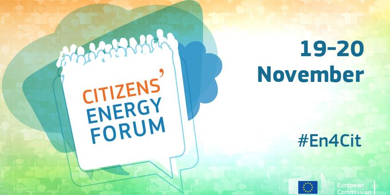 Cartel del Foro de la Energía de los Ciudadanos