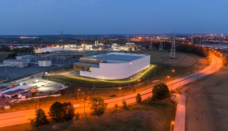 Siemens interconector puente eléctrico Alemania-Bélgica.