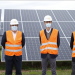 Inauguración de una planta fotovoltaica de 100 MW en Alvarado-La Risca (Badajoz)