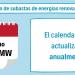 Se abre consulta pública de la orden para el calendario de subastas renovables