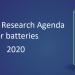 La plataforma Batteries Europe publica la agenda para la investigación en baterías