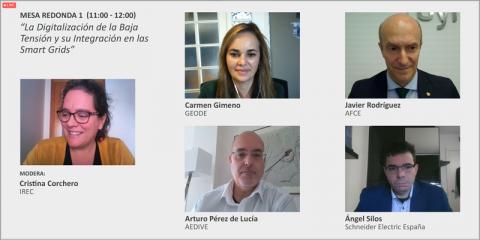 Mesa redonda: La Digitalización de la Baja Tensión y su Integración en las Smart Grids
