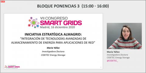 Iniciativa Estratégica Almagrid: Integración de tecnologías avanzadas de Almacenamiento de Energía para aplicaciones de red