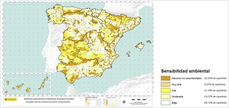 Mapa fotovoltaica