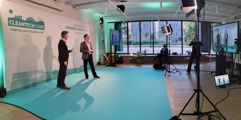 Proyectos de smart grids, smart cities y recarga protagonizan los premios Cleantech Camp 2020