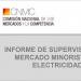 La CNMC analiza en un informe el mercado eléctrico en España en 2019