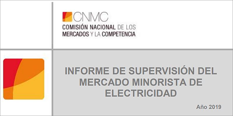 portada del informe de CNMC