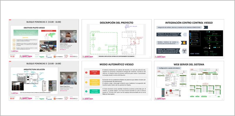 """Ponencia """"Piloto de Almacenamiento de Energía conectado a la red de distribución de Viesgo"""""""