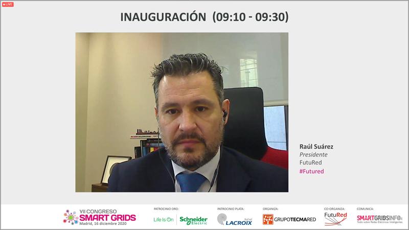 Raúl Suárez, presidente de FutuRed
