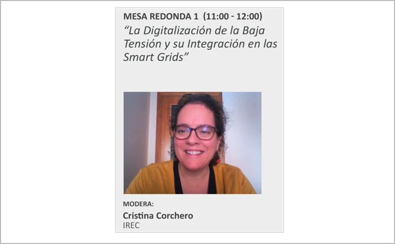Cristina Corchero, de IREC