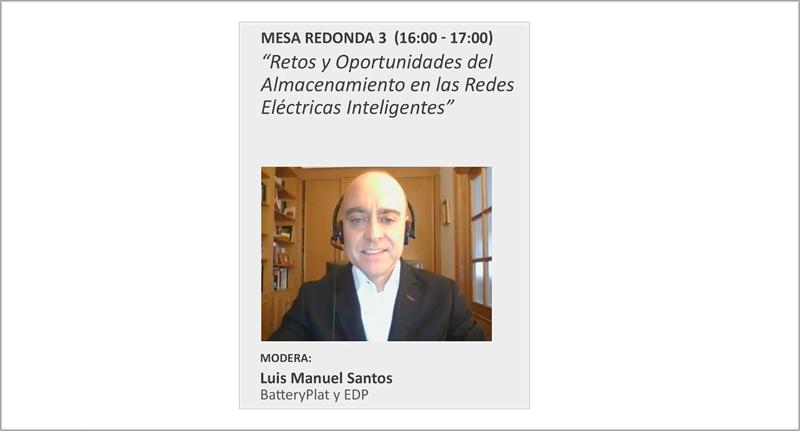 Luis Manuel Santos, moderador