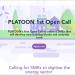 Convocatoria del proyecto Platoon para la digitalización del sector energético