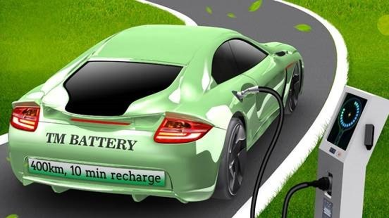 Investigación batería para VE.