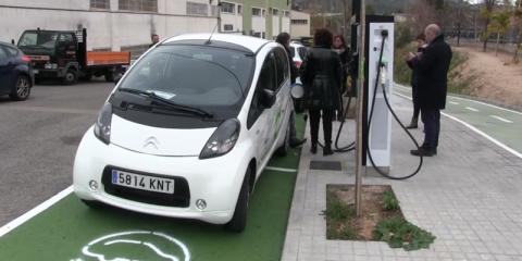Alcoy, en Alicante, registró en 2020 casi 8.000 horas de recarga de vehículos eléctricos