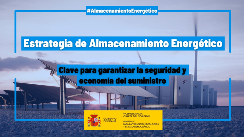 El Gobierno aprueba la Estrategia de Almacenamiento Energético