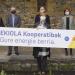 La nueva sociedad Ekiola impulsará cooperativas ciudadanas de generación renovable