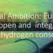 La iniciativa HyDeal Ambition proporcionará hidrógeno 100% verde a toda Europa