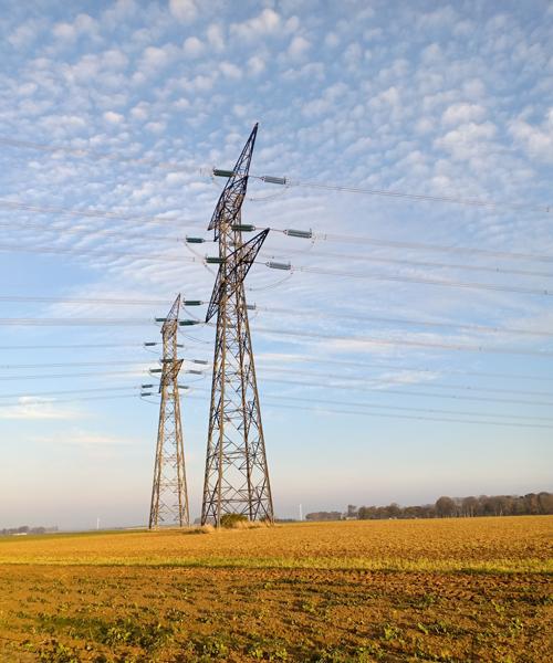 Red de transporte de electricidad