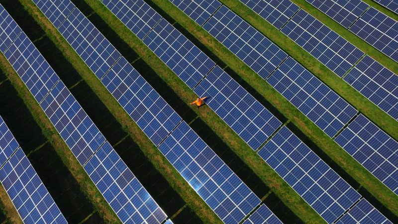 Plantas fotovoltaicas.