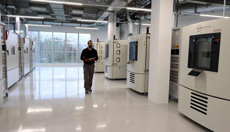 Laboratorio de CIDETEC.